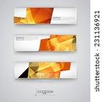 business design templates. set... | Shutterstock .eps vector #231136921
