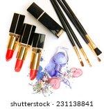 decorative cosmetics and... | Shutterstock . vector #231138841