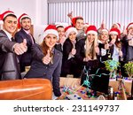 Business Group People In Santa...