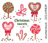 set of sugar candies for...   Shutterstock .eps vector #231149839