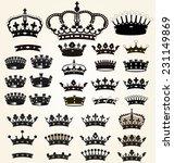 royal elements | Shutterstock .eps vector #231149869