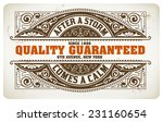 Stock vector retro label vector file coffee drops details organized by layers 231160654