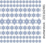 snow pattern with snowflakes   Shutterstock .eps vector #231162481