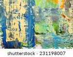 abstract art background. hand...   Shutterstock . vector #231198007