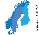scandinavia   Shutterstock .eps vector #231220831