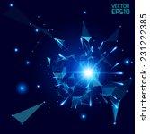 abstract vector background.... | Shutterstock .eps vector #231222385