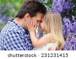 young beaitiful father and his...   Shutterstock . vector #231231415