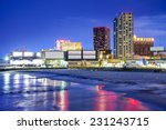Atlantic City  New Jersey  Usa...