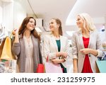 sale  consumerism and people... | Shutterstock . vector #231259975