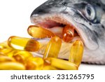 omega 3 capsules coming out... | Shutterstock . vector #231265795