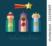 Постер, плакат: The three Kings of