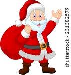 Happy Santa Witch Sack