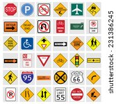 illustration of various road... | Shutterstock .eps vector #231386245