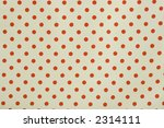 Red And White Polka Dot Fabric...
