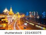 beautiful shanghai bund at... | Shutterstock . vector #231430375