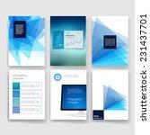 vector brochure design...   Shutterstock .eps vector #231437701