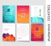 flyer  brochure design... | Shutterstock .eps vector #231437821