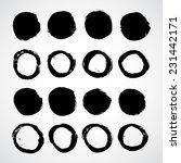 grunge shapes | Shutterstock .eps vector #231442171