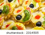 fruit cakes with pineapple ... | Shutterstock . vector #2314505