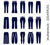 different types of women... | Shutterstock .eps vector #231459151