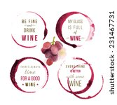 wine type designs | Shutterstock .eps vector #231467731