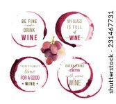 wine type designs | Shutterstock .eps vector #231467731