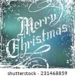 vector christmas background... | Shutterstock .eps vector #231468859