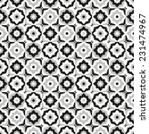 seamless pattern black and... | Shutterstock .eps vector #231474967