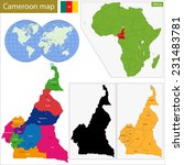 cameroon map with high detail... | Shutterstock .eps vector #231483781