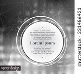 card or invitation template... | Shutterstock .eps vector #231486421