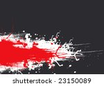 abstract red and gray design... | Shutterstock . vector #23150089