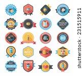 hospital badge banner design... | Shutterstock .eps vector #231515911