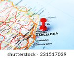 close up of barcelona  spain ... | Shutterstock . vector #231517039