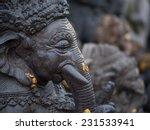 A Statue Of Ganesha In Bali ...