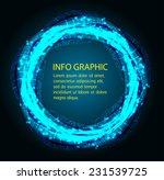 dark blue light abstract...   Shutterstock .eps vector #231539725