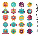 hospital badge banner design... | Shutterstock .eps vector #231549415
