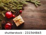 Christmas Tree With Gift Box...