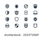 Shield icons | Shutterstock vector #231571069