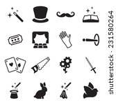 magic icons | Shutterstock .eps vector #231580264