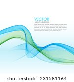 abstract background with wave... | Shutterstock .eps vector #231581164
