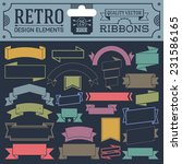 retro design elements hipster... | Shutterstock .eps vector #231586165