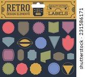 retro design elements hipster... | Shutterstock .eps vector #231586171