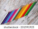 colored pencils | Shutterstock . vector #231591925