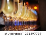 Closeup Of Glasses Of Champagn...