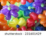 Colorful Flower Balloons
