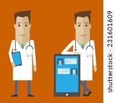 doctor online | Shutterstock .eps vector #231601609