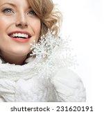 portrait of attractive young... | Shutterstock . vector #231620191