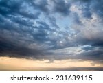 Background Of The Sky With...