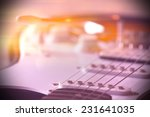 part of electric guitar with...   Shutterstock . vector #231641035