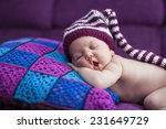 beautiful newborn baby girl in... | Shutterstock . vector #231649729